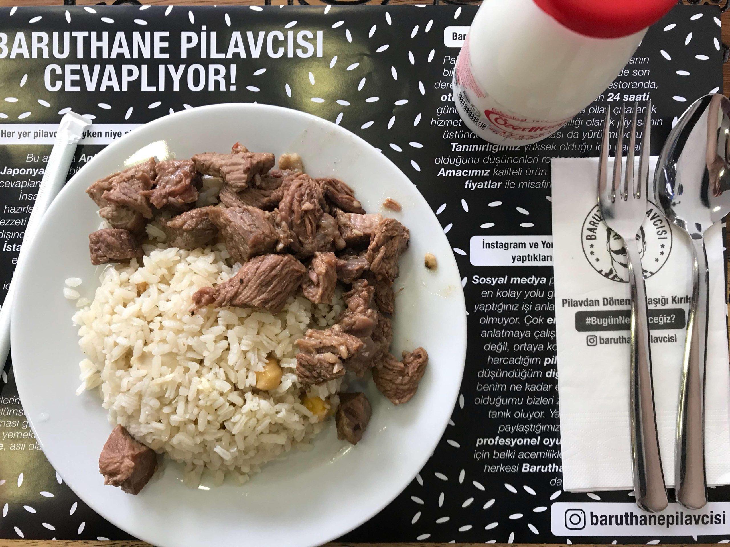 Baruthane Pilavcısı, İstanbul
