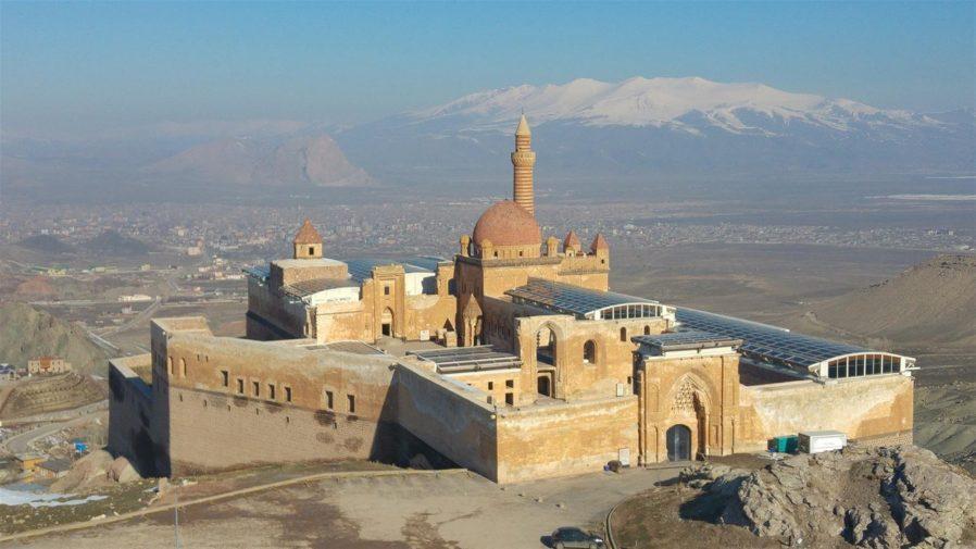 İshak Paşa Sarayı'nın Saray Bölümü