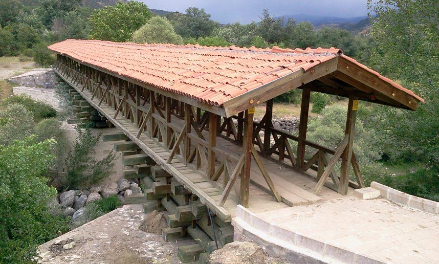 Bayramören Tarihi Ahşap Köprüsü