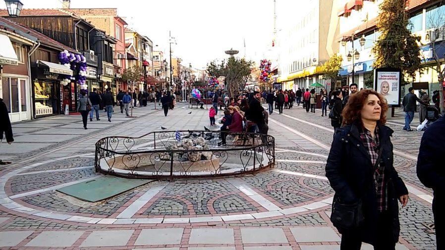 Edirne Saraçlar Caddesi