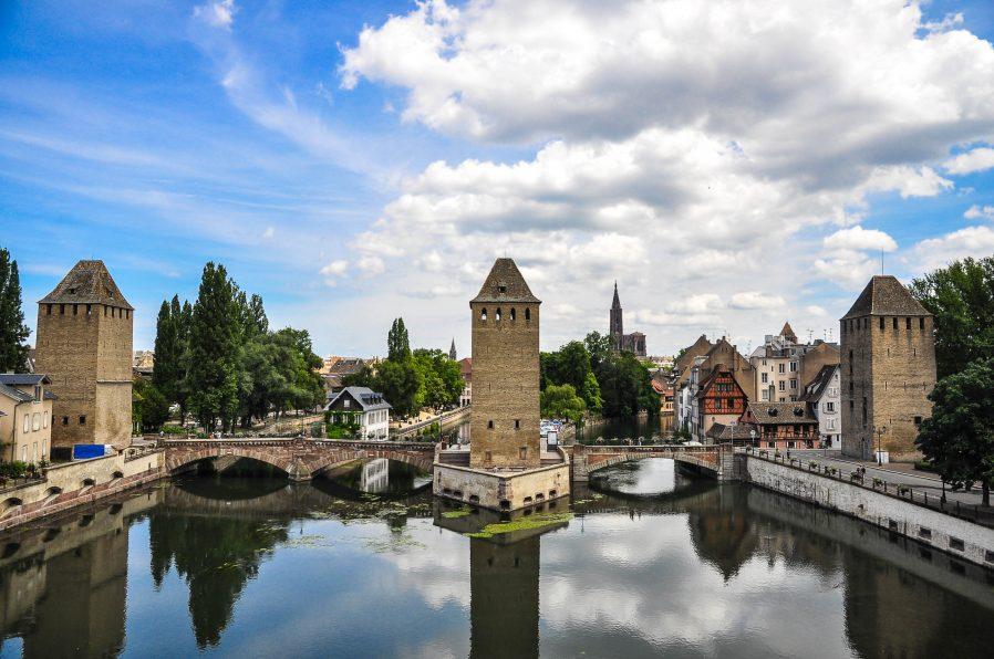 Strasbourg le Barrage Vauban (Vauban Barajı)