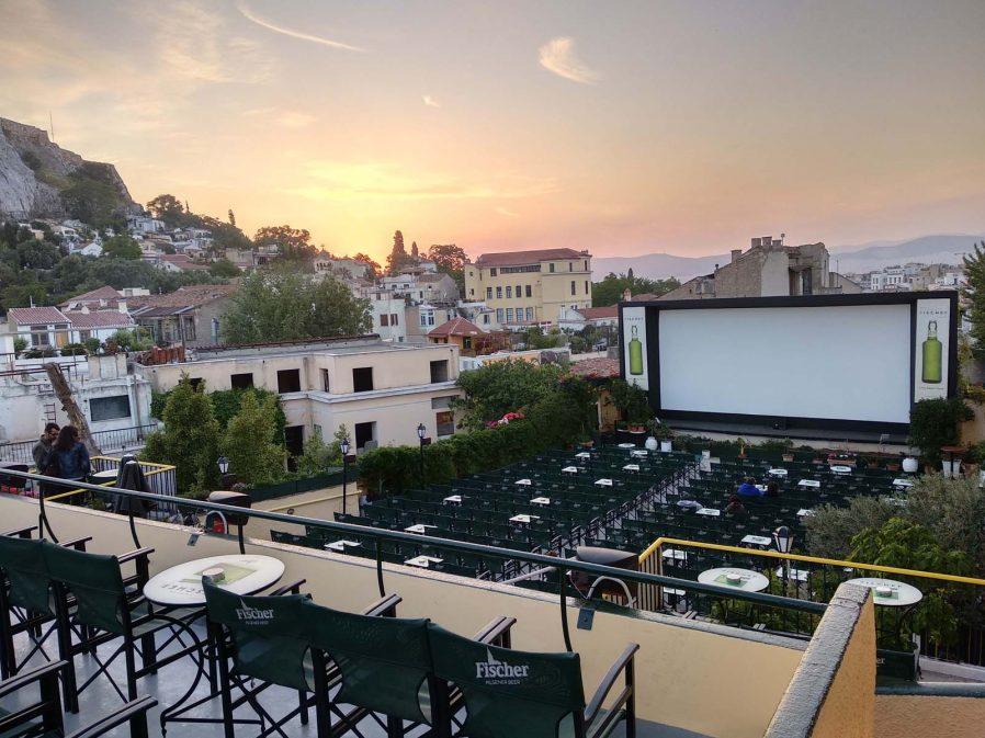 Cine Paris Açık Hava Sineması'nda Bir Film İzleyin