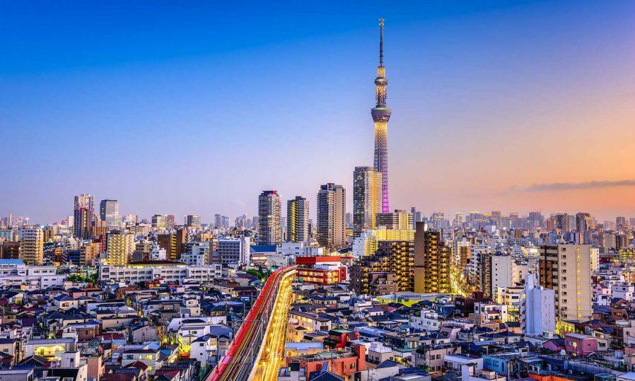 Skytree'den Tokyo'yu Seyredin