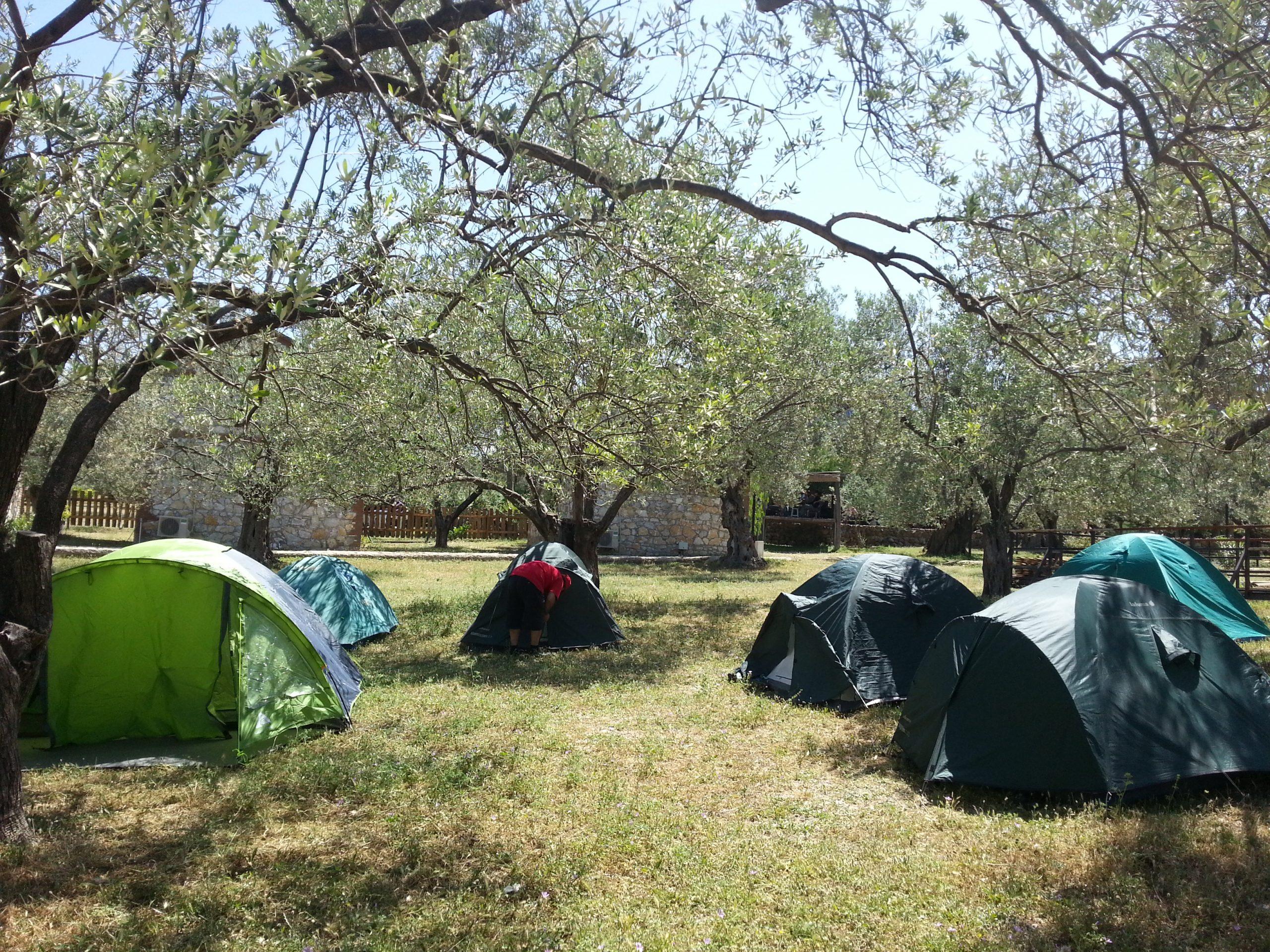 Ayvalık Kamp Mutlu Köy