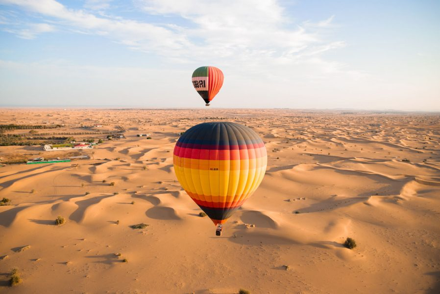 Balonla Dubai ve Çöl Turu Yapın