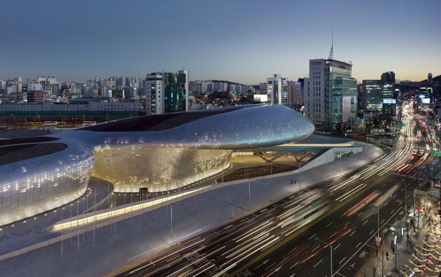 Dongdeamun Design Plaza'da Modern Seul'ü Görün