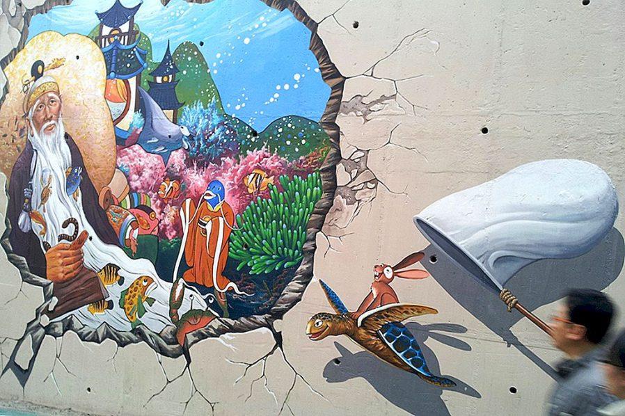 Ihwa Mural Köyü'nü Gezin