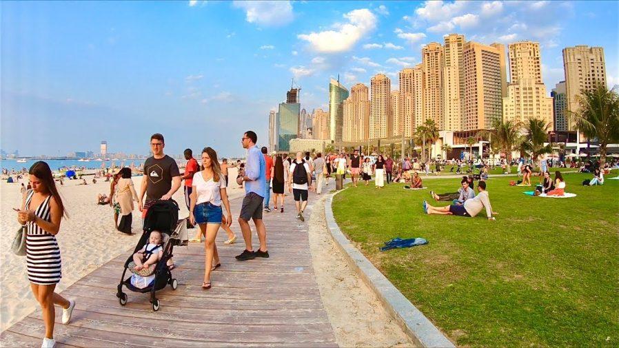 JBR Walk & Dubai Marina