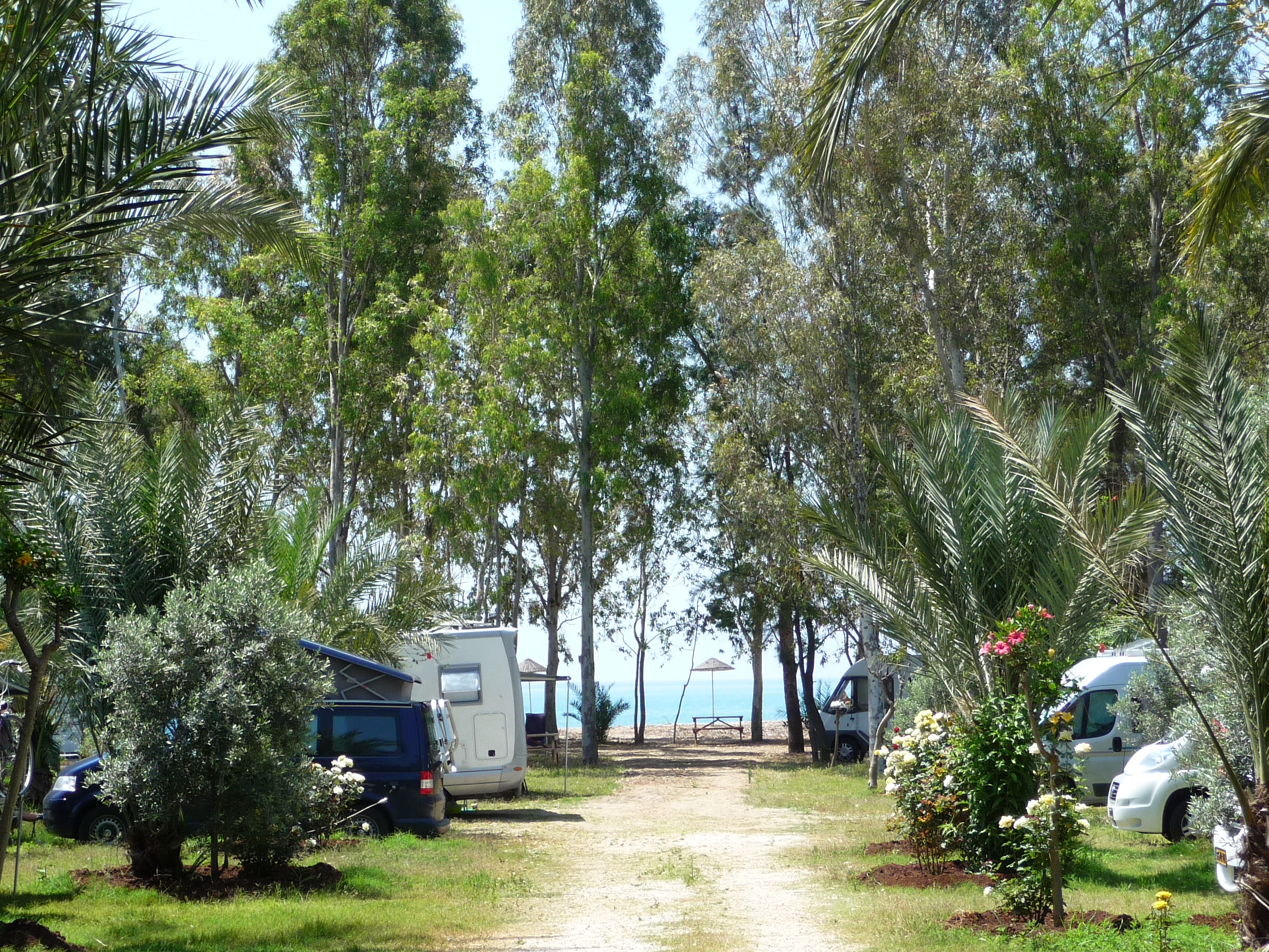 Mersin Kamp Alanı Camping Paradies