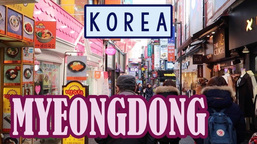Myeongdong'da Alışveriş Yapın