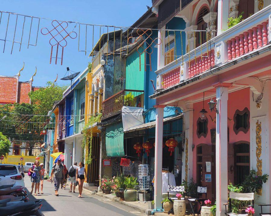 Old Phuket Sokakları'nı Keşfedin