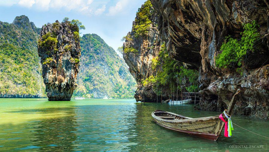 Phang Nga Körfezi'ndeki Adaları Görün