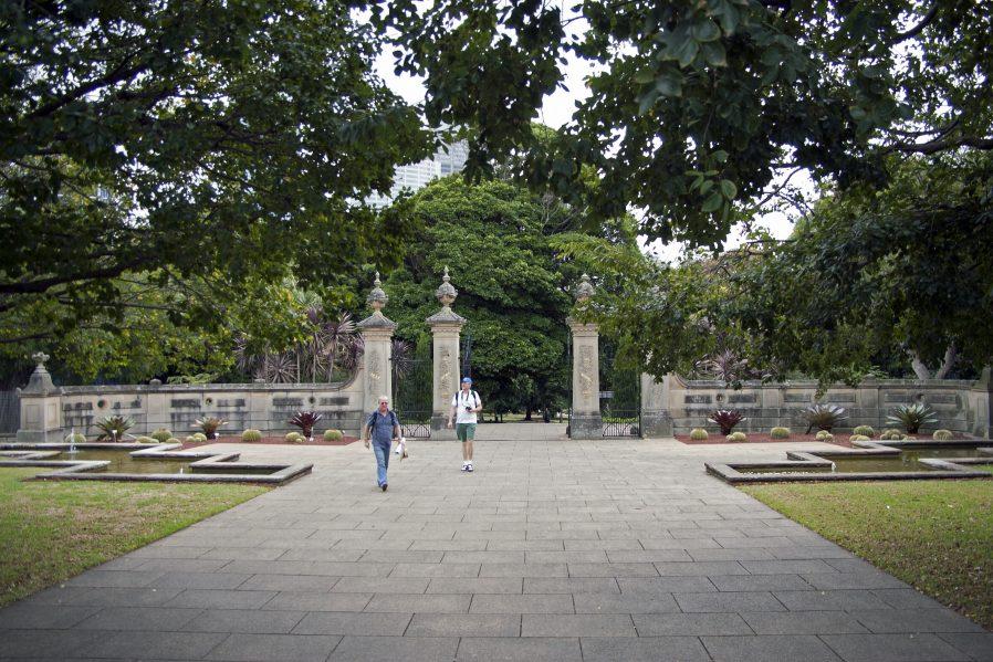 Royal Botanic Garden'da Dinlenin