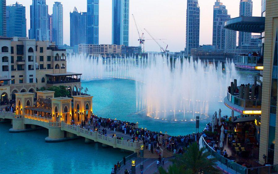 The Dubai Fountain'i Seyredin