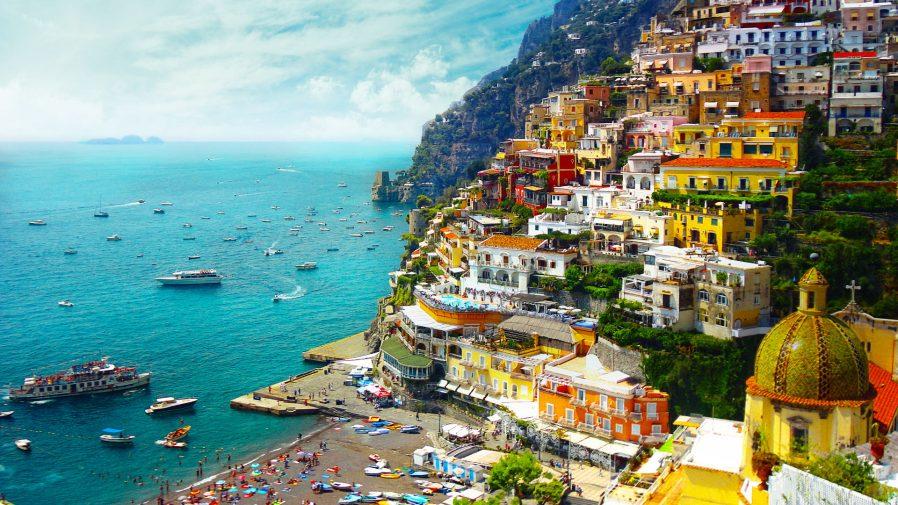 Amalfi Sahilleri'ne Kaçın