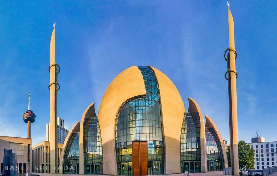 Cologne Central Mosque (Köln Merkez Camii)