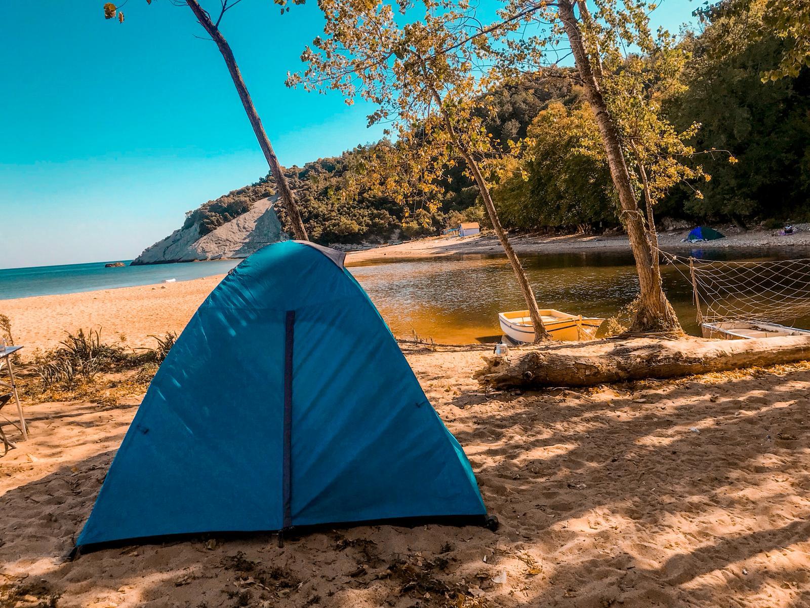 Kapısuyu Plajı Kamp Alanı