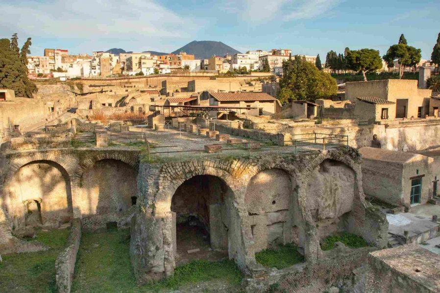 Pompeii ve Herculaneum Kalıntıları'nı Görün
