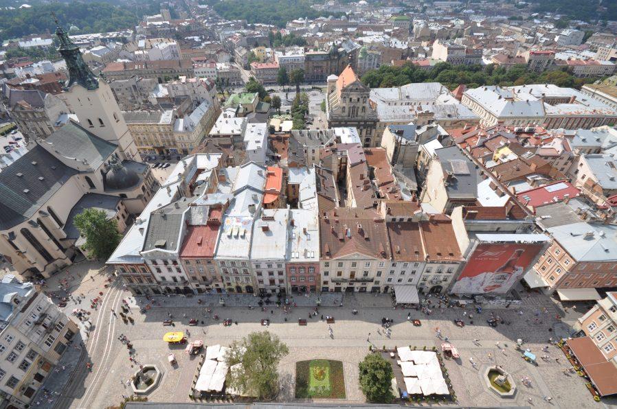 Rynok Square'den Kuş Bakışı Şehir Merkezini Seyredin
