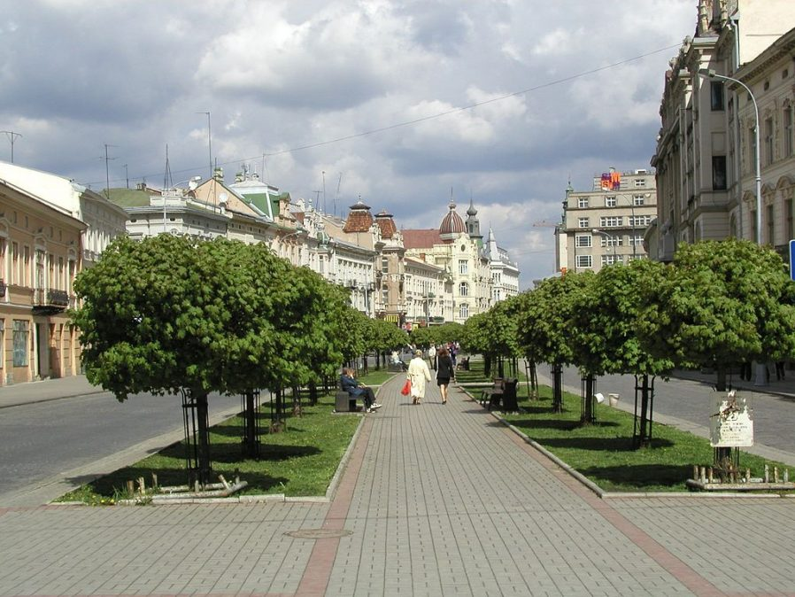 Shevchenka Avenue