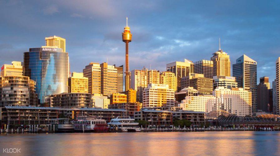 Sidney Kulesinden Şehri İzleyin
