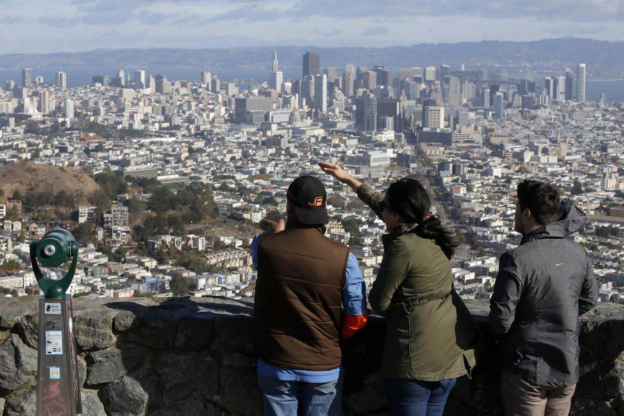 Twin Peaks'den San Francisco'yu Seyredin