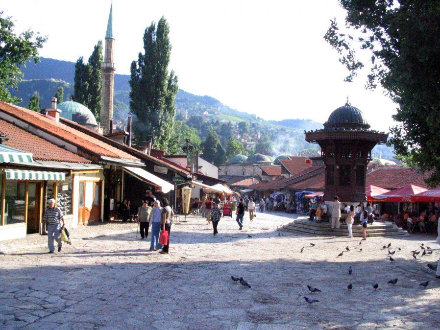 Başçarşı (Baščaršija)