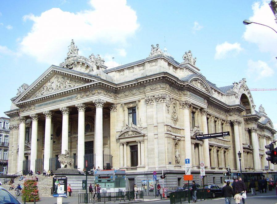 Bourse de Bruxelles (Borsa Binası)