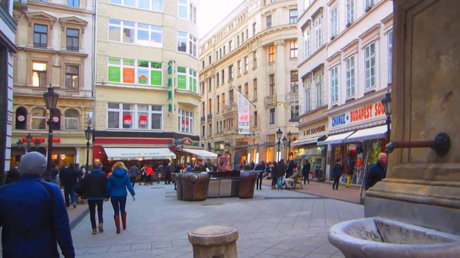 Budapeşte Alışveriş Caddeleri
