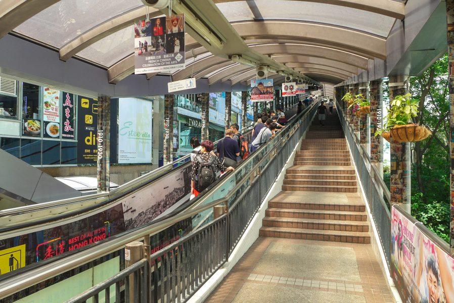 Dünyanın En Uzun Yürüyen Merdivenine Binin