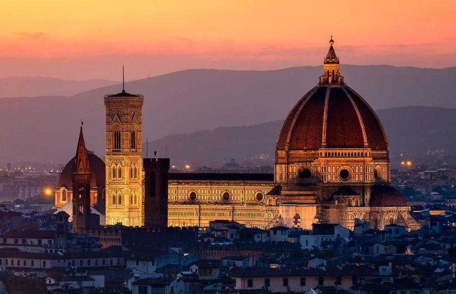 Duomo'nun Kubbesi ve Çan Kulesine Çıkın