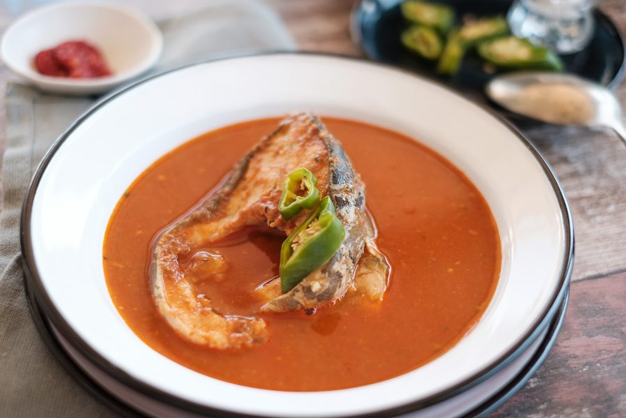 Halaszle (Fisherman's Soup)