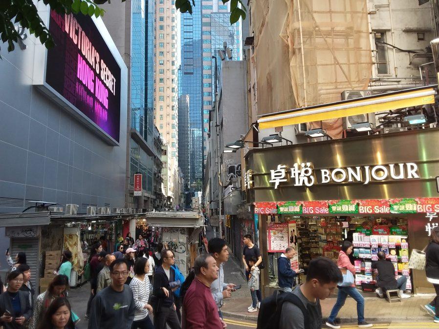 Hong Kong Adasında Kurulan Pazarlar