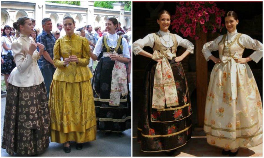 Nakışlı Geleneksel Macar Giysileri