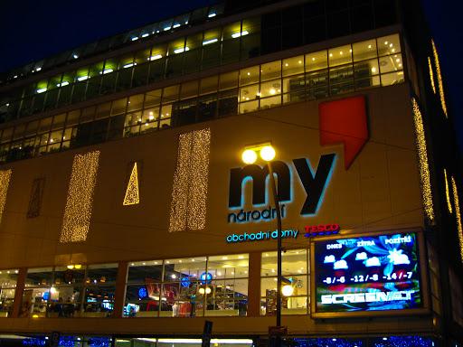 Prag'daki Büyük Mağazalar