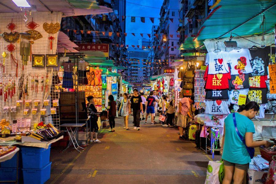 Temple Street Gece Pazarı