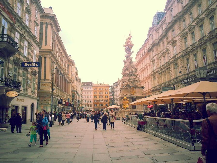 Viyana Alışveriş Caddeleri