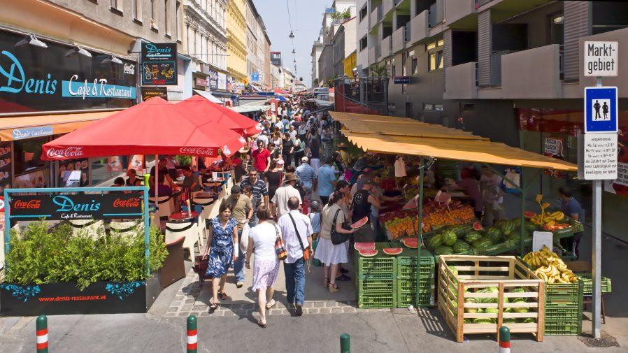 Viyana Sokak Pazarları