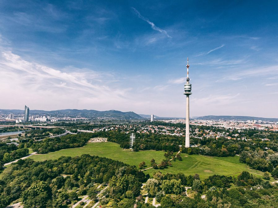 Viyana'yı Donauturm'dan Seyredin