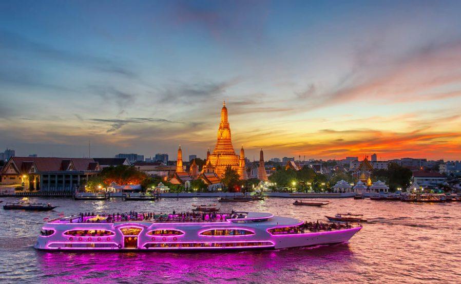 Chao Phraya'da Tekne Turu Yapın