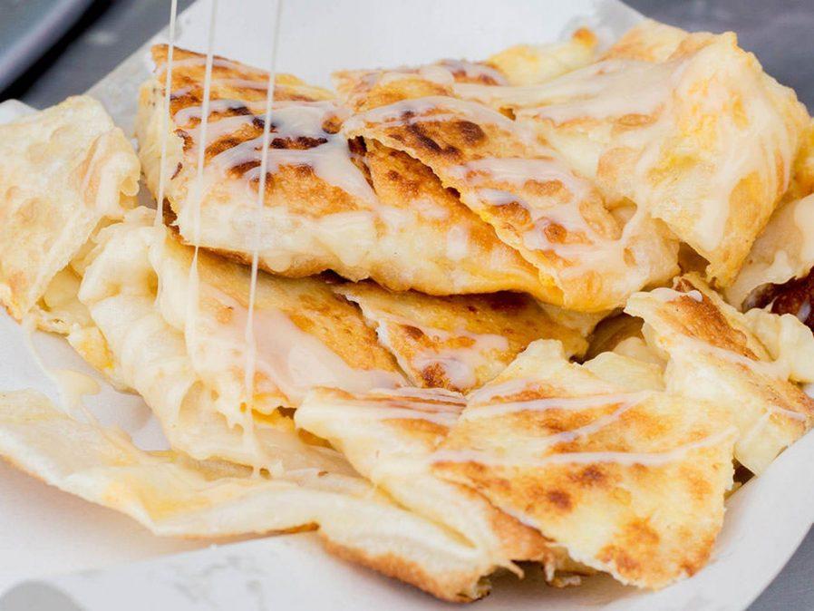Kızarmış Muzlu Pankek (Prata Roti Gluay)