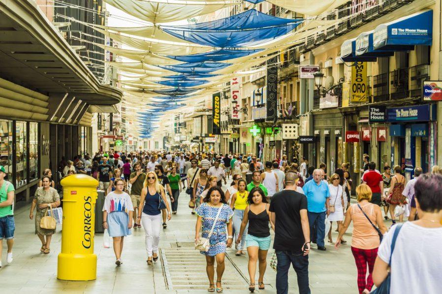 Madrid'de Alışveriş Yapılacak Yerler