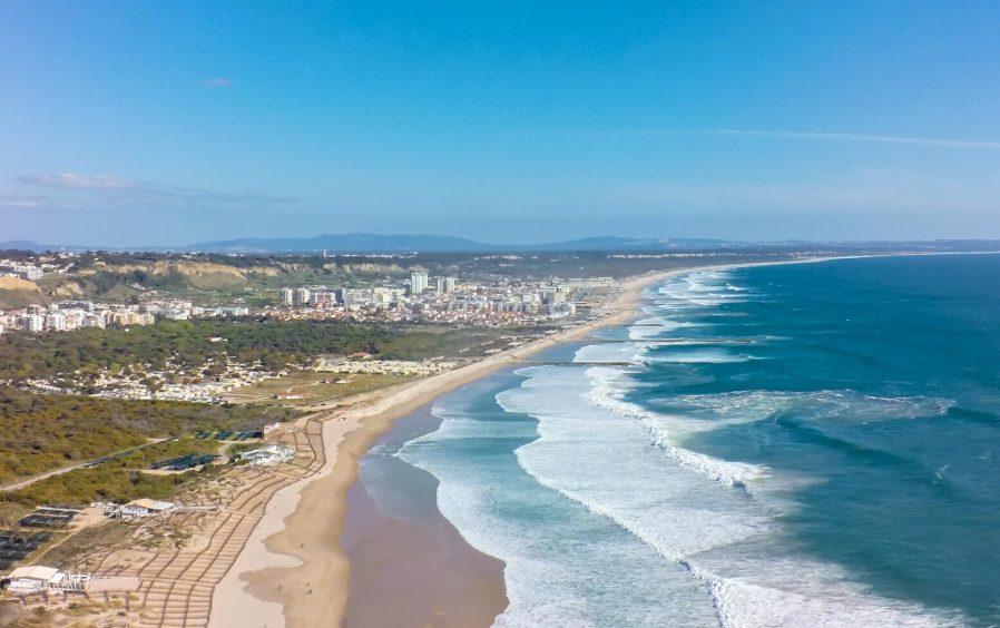 Costa da Caparica'da Sörf Yapın