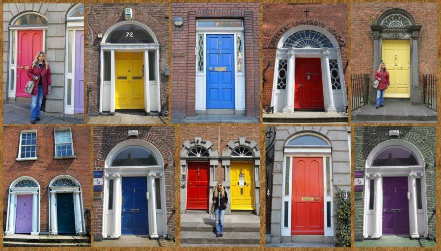Dublin'in Kapıları Önünde Fotoğraf Çektirin