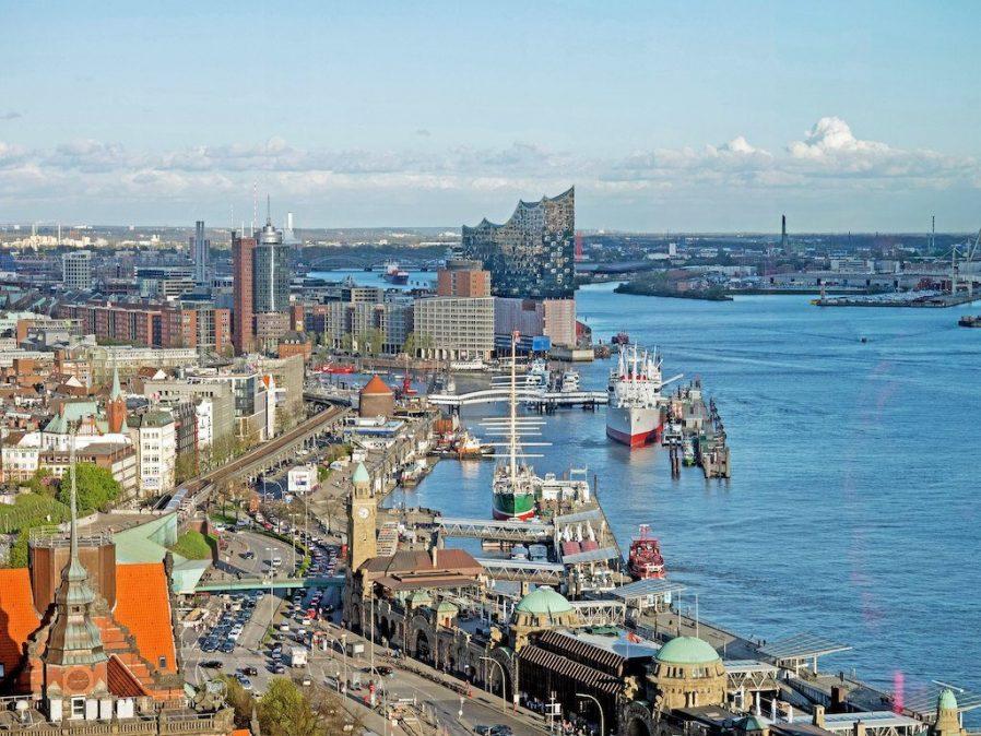 Hamburg Limanı'nda Dolaşın