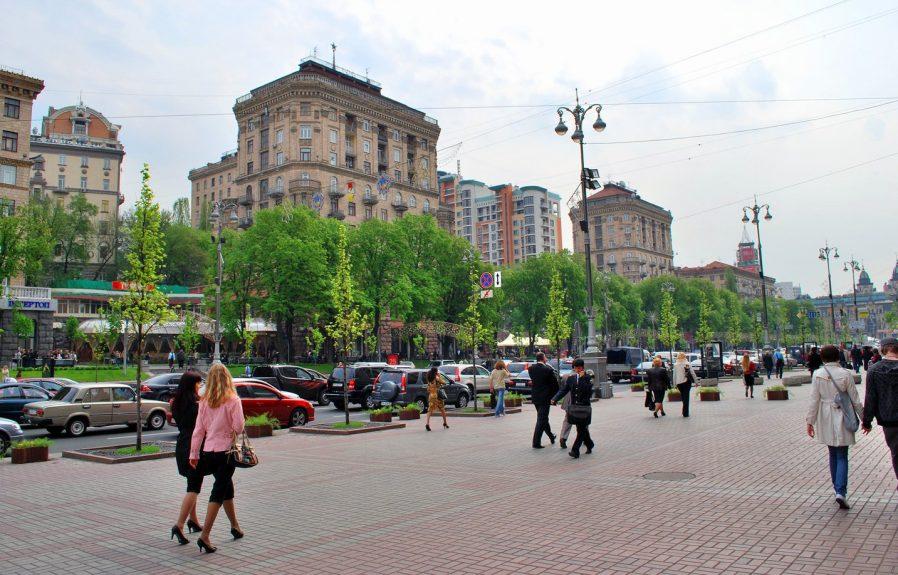 Kiev'in Merkezinde Yürüyüş Yapın ve Tarihi Yapıları Seyredin