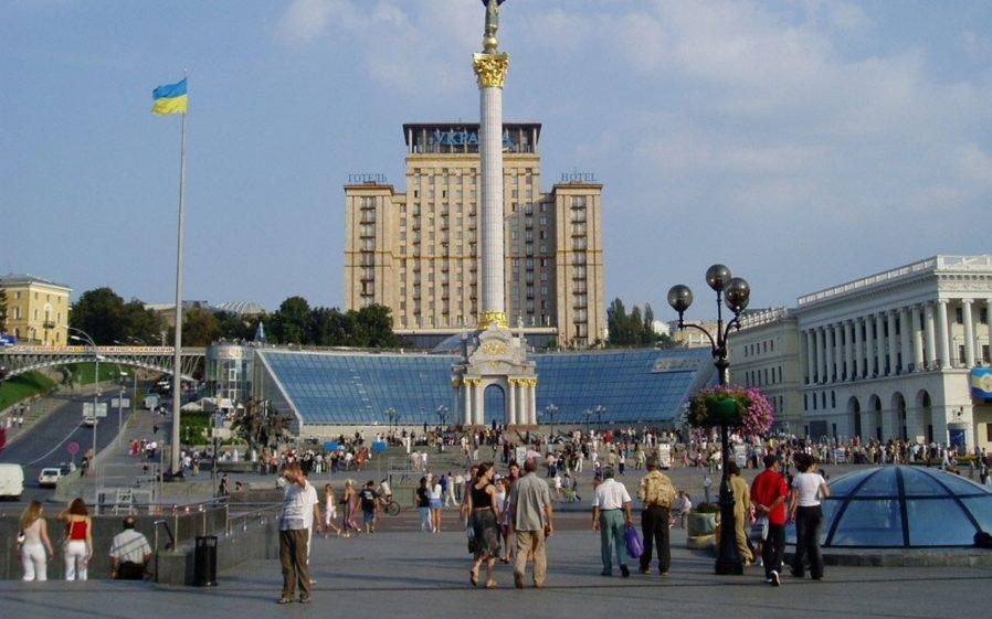Kreşatik Caddesi ve Bağımsızlık Meydanı
