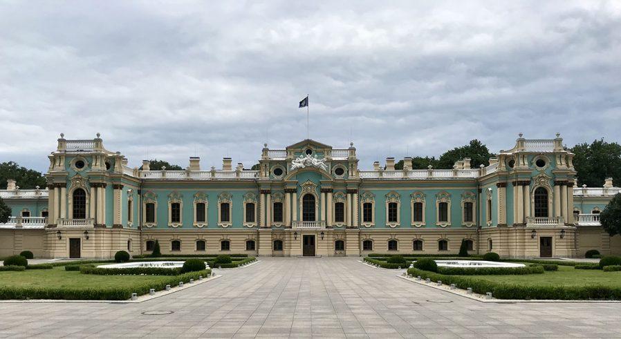 Mariinsky Park ve Mariyinsky Sarayı