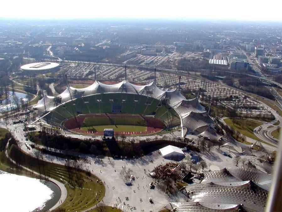 Münih Olimpiyat Parkı'nda Eğlenin