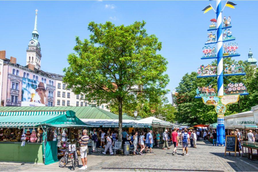 Münih Sokak Pazarları